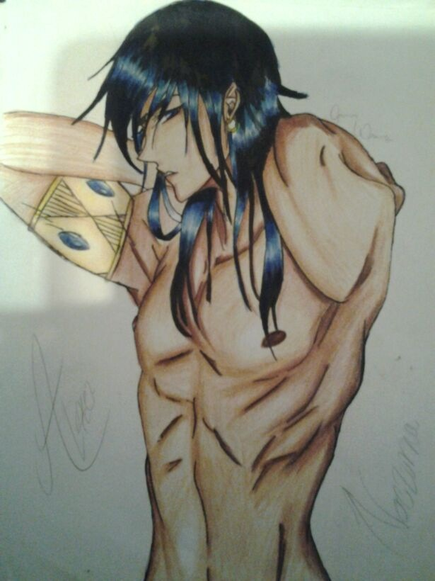King Alexei, Credited to Jasmine Williams, Nocturna's first fan artist and my best friend.