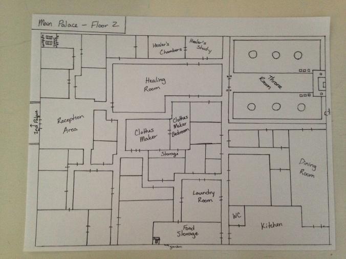 Main Palace - Main Floor