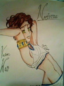 Valon Wess, Credited to Jasmine Williams, Nocturna's first fan artist and my best friend.
